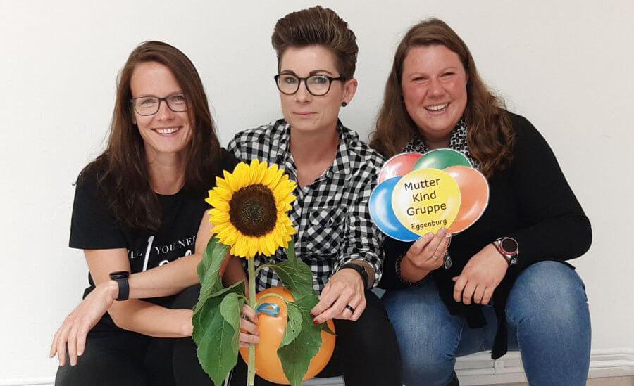 Muki-Vorstand 2020-2023: Karin Loibl, Katja Holluger, Stefanie Schneider